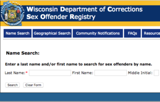 WI-Sex Offenders - Police and Security Services UWSP