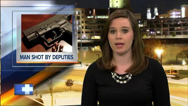 Wittenberg man shot after leading deputies on...