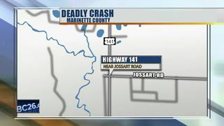 One person dead after three-car crash