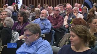 Town Hall meeting held without Sen. Ron Johnson