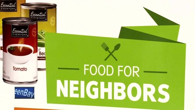 nbc26 teams with festival foods for food for neighbors program