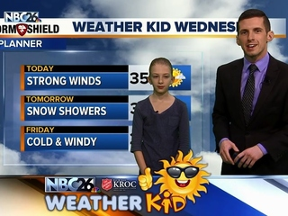 Meet Jessica, our Weather Kid of the Week