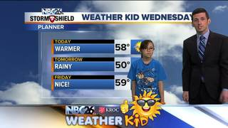Meet Shyanne, our Weather Kid of the Week