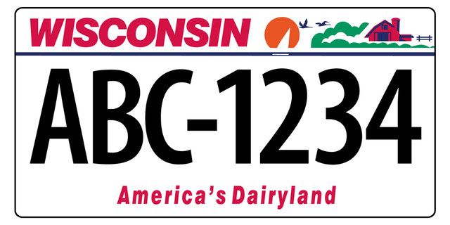 Wisconsin Dot To Debut New License Plates Tmj4 Milwaukee Wi