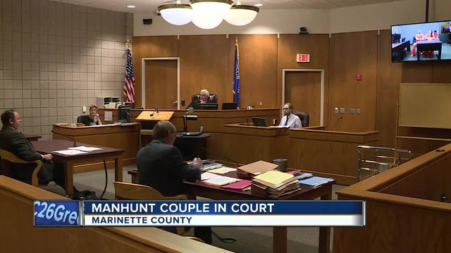 Marinette Manhunt Couple In Court