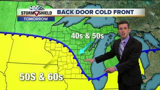 Cold Front Comes Through Sunday