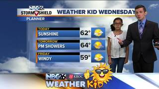 Meet Liliana Brown, our Weather Kid of the Week