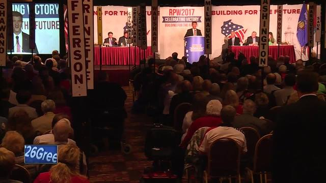 Wisconsin Republicans gather for annual convention
