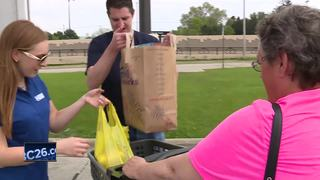 NBC26 food drive helps Manitowoc fire victims