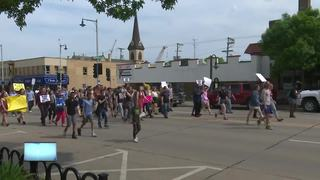 Protesters want action after Appleton shooting