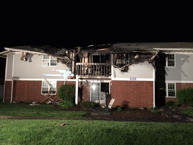 Red Cross helping families after Ashwaubenon apartment fire