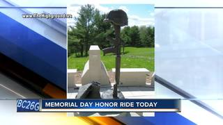 Hundreds take part in Memorial Day Honor ride