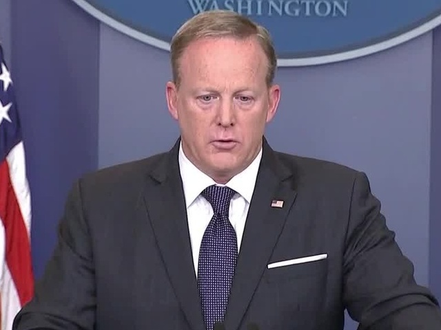 Sean Spicer Was Weirdly Unprepared to Talk About Trump's Favorite Subject