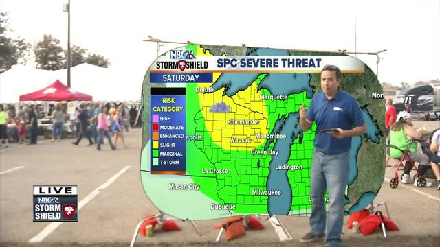 Cameron-s Weather Roadshow at Shawano Sun Drop Days