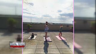 Rooftop Yoga taking place in Oshkosh