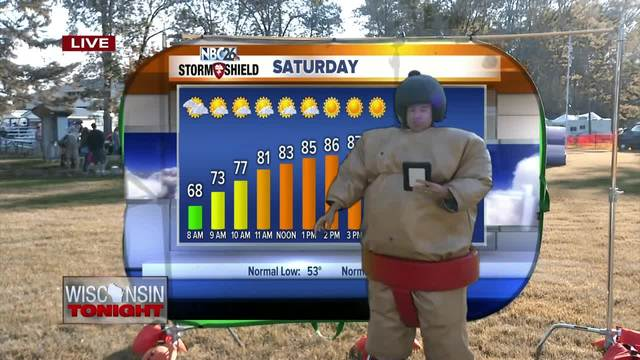 Cameron-s Weather Roadshow at Oconto Copperfest-