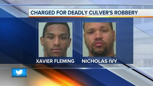 Two suspects charged with murder in deadly Culver's robbery