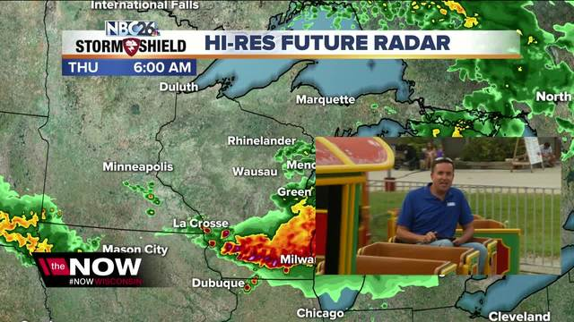 Cameron's Weather Roadshow at Fond du Lac County Fair