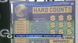 New Packers lottery scratch tickets revealed