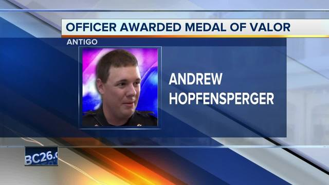 Heroic Lesbian Police Officer Gets Medal of Valor - From Trump