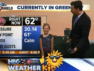 Meet Isabelle, our Weather Kid of the Week