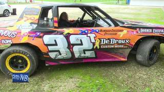 Teen racer helping children with cancer