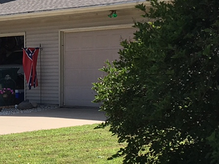 Confederate flag to be moved indoors