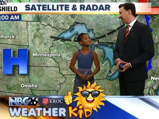 Meet Avalon, our Weather Kid of the Week