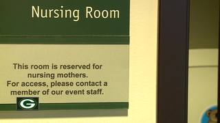 Packers recognized for providing nursing suites