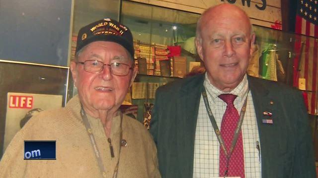 WWII Veteran sells car to Gen.Patton's Grandson