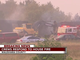 Body of homeowner found in Waushara Co. fire