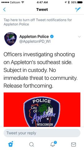 BREAKING: Appleton Police responding to incident