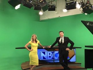 NBC26 takes part in 'Green and Gold Friday'