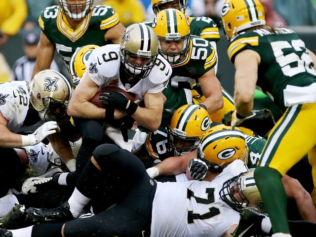 Packers fall to Saints, 26-17