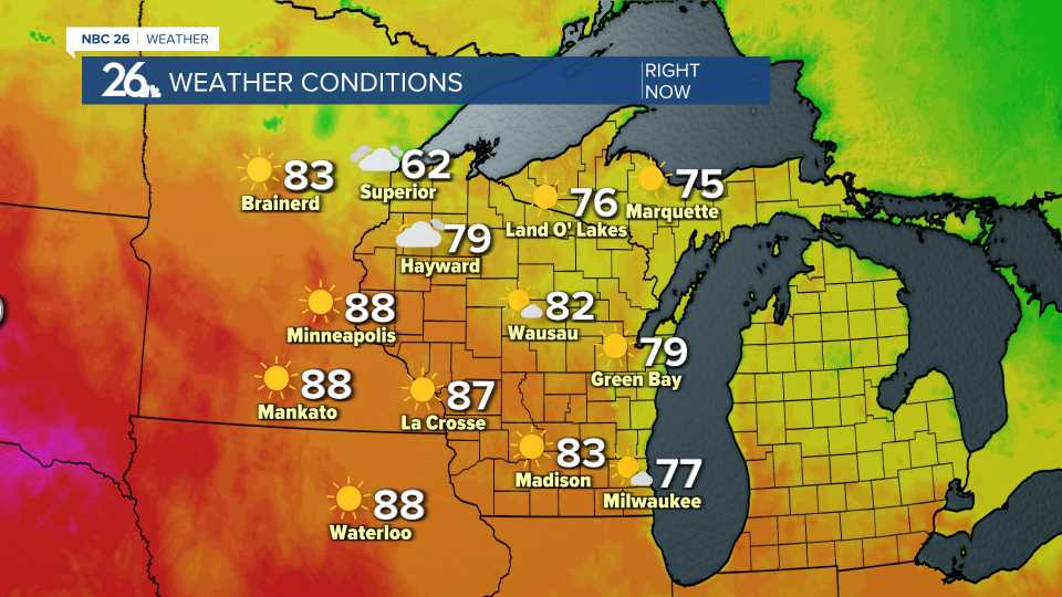 Statewide Temperatures and Weather Conditions