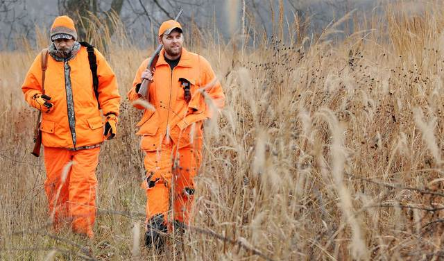 Hunters head to the woods on opening day
