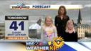 Meet Elise and Emma -our weather kids of the wee