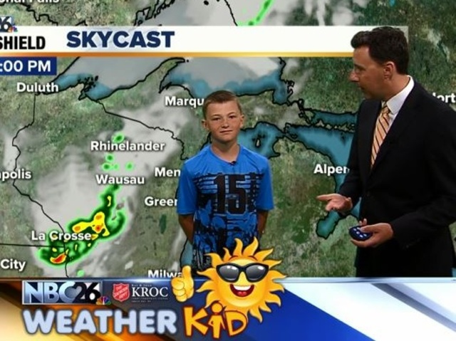 Meet Nathan Our Weather Kid Of The Week Nbc26 Wgba Tv