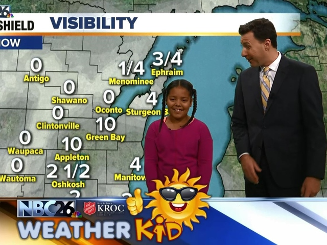 Meet Kyra Our Nbc26 Weather Kid Of The Week Nbc26 Wgba