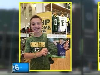 7th grader named Shopko's Kick-Off Kid