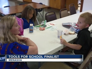 Menasha teacher a Tools for Schools finalist