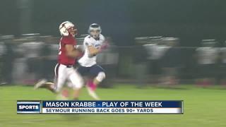 Play of the Week: Seymour RB Mason Krabbe