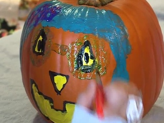 Hospital's pumpkin donation brings joy to kids