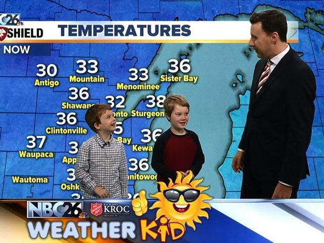 Meet Isaiah And Elijaj Our Nbc26 Weather Kids Of The Week