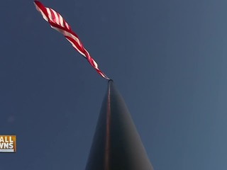 Small Towns: Country's tallest flag pole