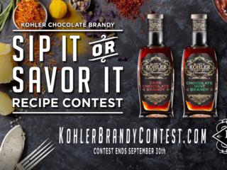 Kohler Sip It or Savor It Recipe Contest