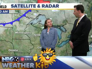Meet Kylee, our NBC26 Weather Kid of the Week