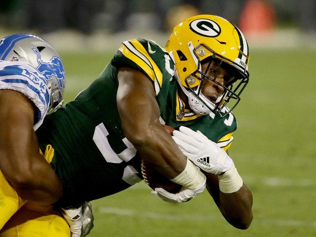 Packers running back arrested, before he made his first start