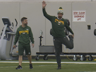 Packers excited to see Rodgers at practice