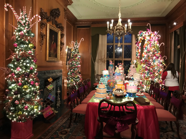 Land Of The Sweets At Nutcracker In The Castle At The Paine Art Center And  Gardens.